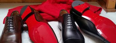 Designer shoe repair
