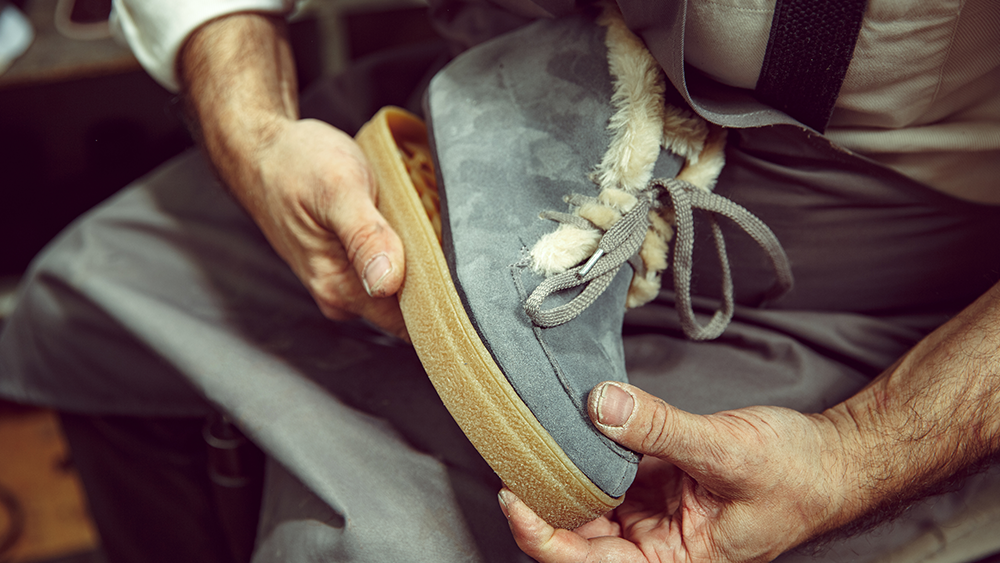 The Business of Shoe Repair